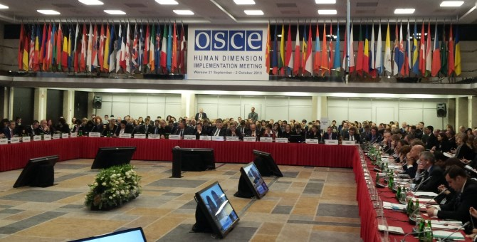 Important Building Blocks In Strengthening the OSCE's Human Dimension