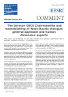 thumbnail of 2015-12 German OSCE Chairmanship & West-Russia Dialogue EESRI-CP-ENG