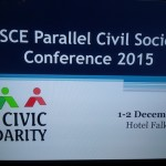OSCE PARALLEL CIVIL SOCIETY CONFERENCE 2015
