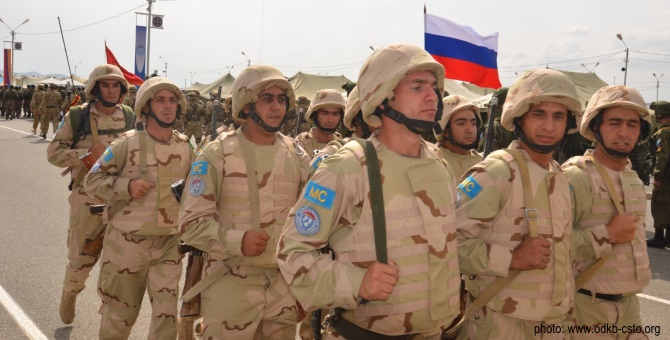 Armenia and Russia Pursue Joint Military Forces