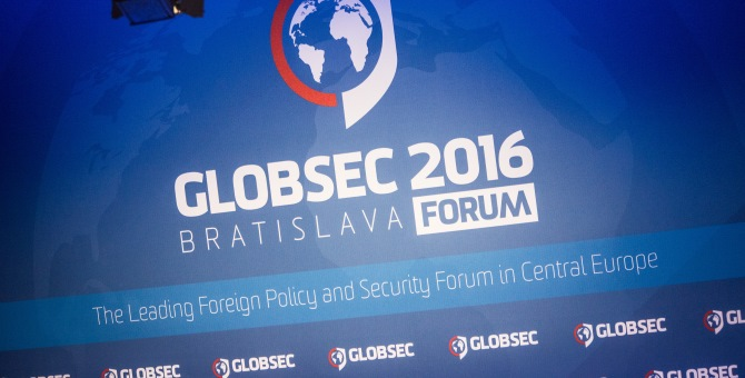 GLOBSEC 2016 Bratislava Global Security Forum