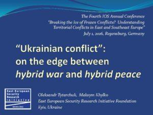thumbnail of 2016-07 Frozen Conflicts – IOS Regensburg – Tytarchuk, Khylko EESRI-CP-ENG